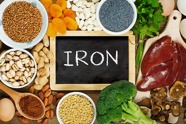 Getting more iron in older age