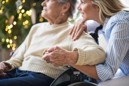 Mindful Christmas activities in aged care