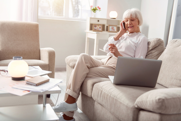 Staying connected with the elderly