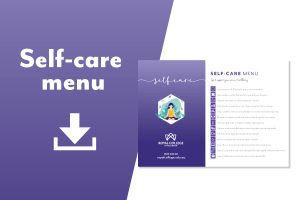 Self-care checklist download