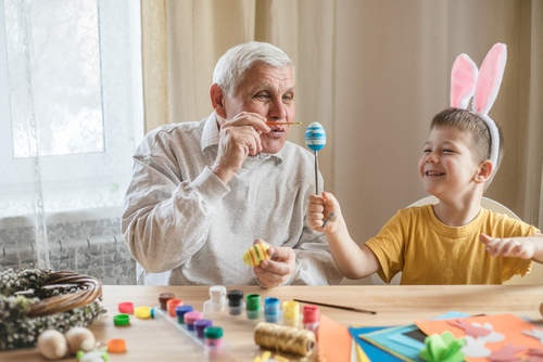 Easter activities in aged care