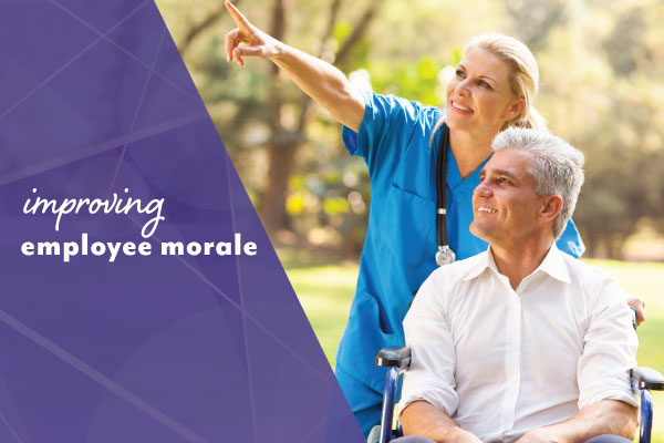 Improving employee morale in aged care