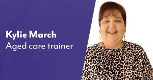 Kylie aged care trainer