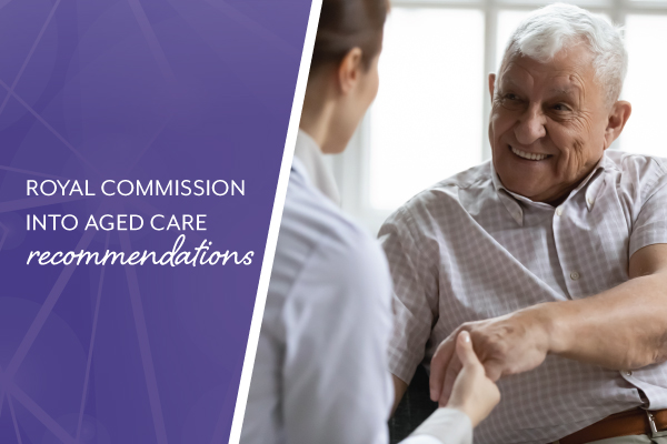 Certificate III minimum qualification for aged care: Royal Commission