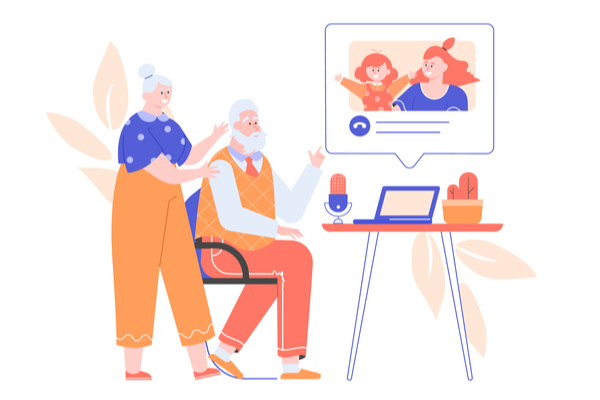 Special connections: engaging the elderly with technology